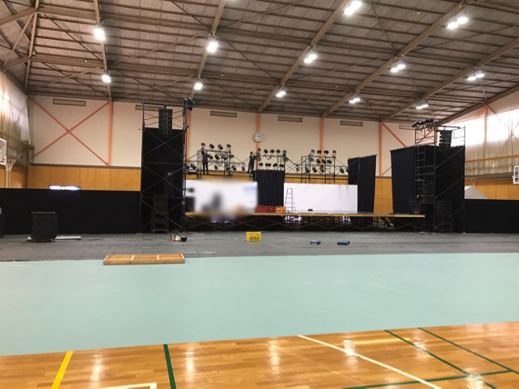 大学文化祭ステージ(愛媛県)
