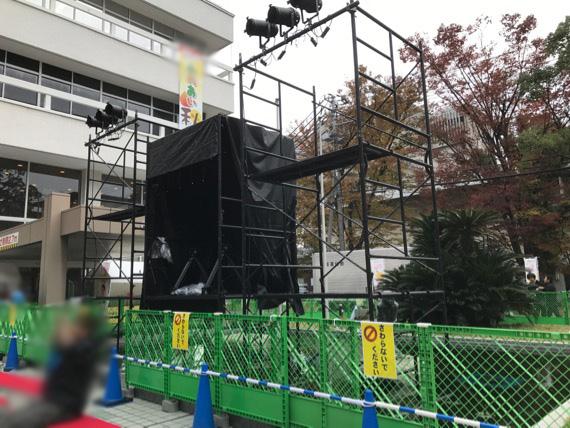 放送局会館公開イベントステージ(松山市) 02