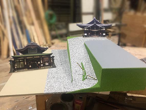 番組用 模型(松山市)